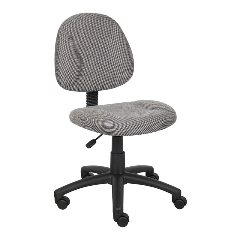Boss Perfect Posture Deluxe Office Task Chair Without Arms