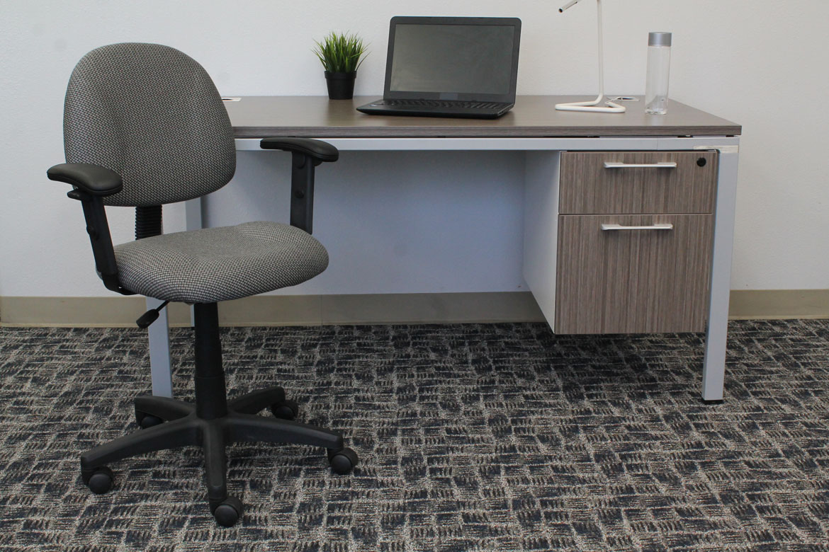 perfect posture chair. Boss Perfect Posture Deluxe Office Task Chair With Adjustable Arms, Grey