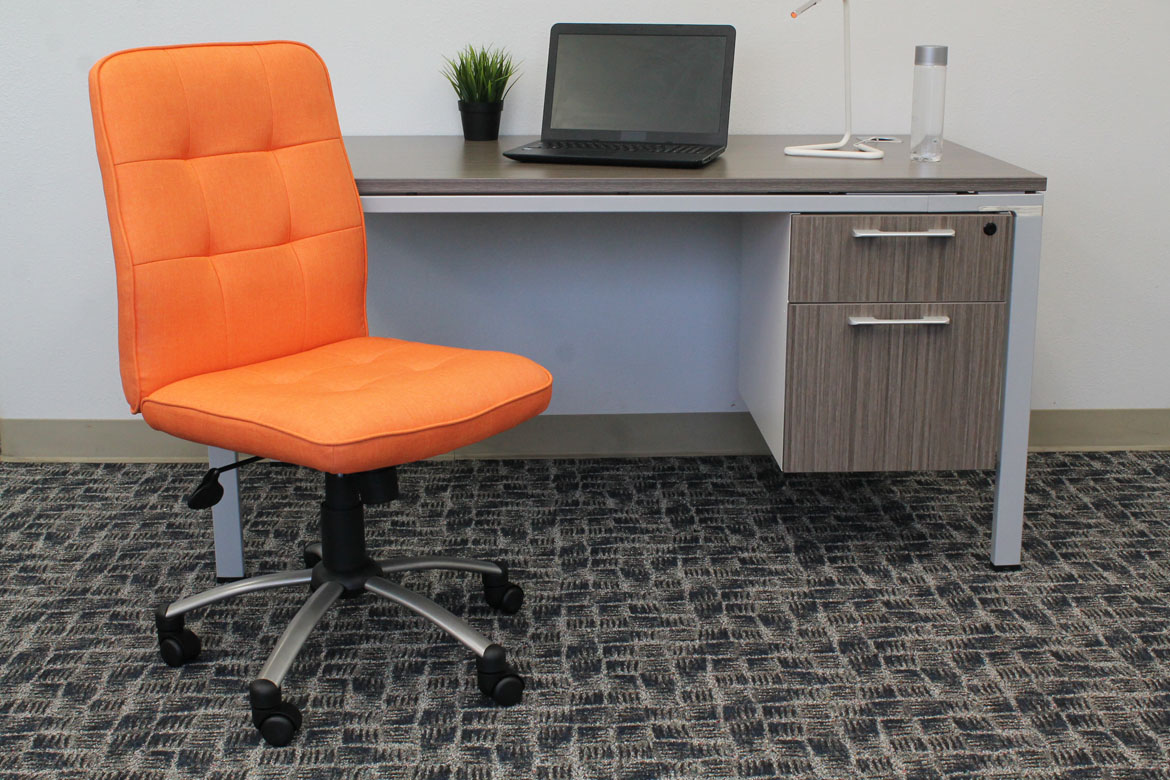Bon Modern Office Chair Orange