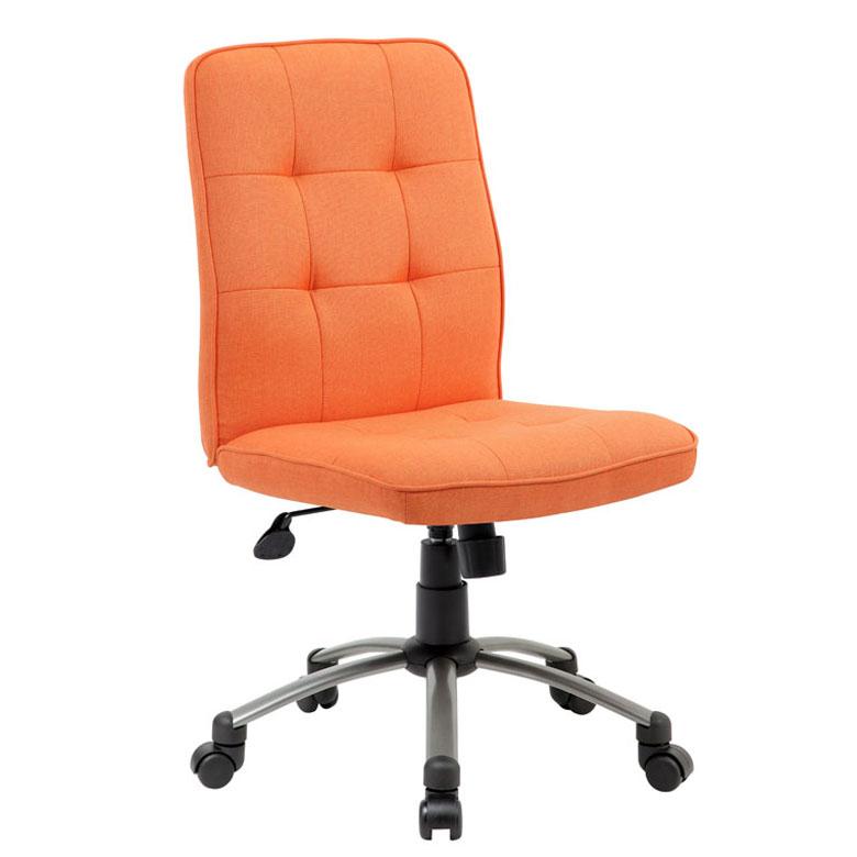 modern office chair-orange – bosschair