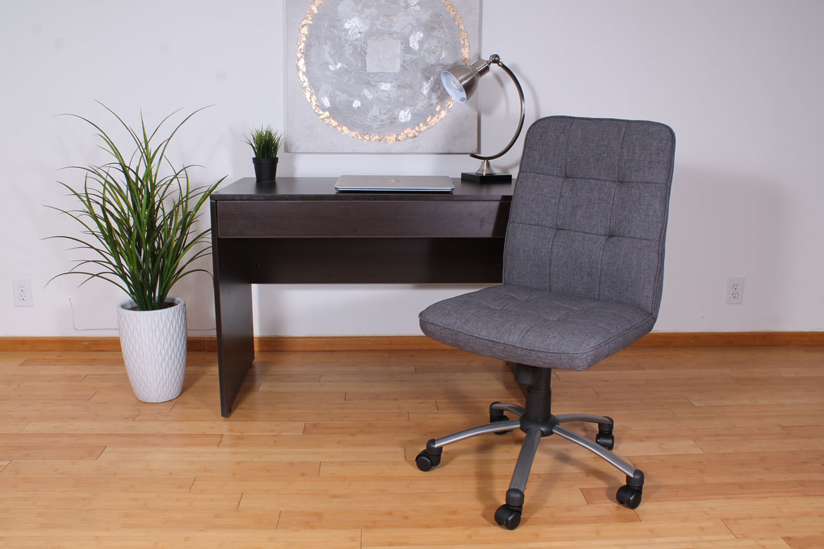Modern Office Chair Slate Grey BossChair
