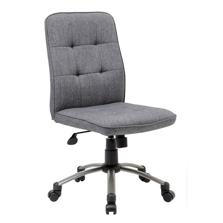home seating task seating modern office chair slate grey