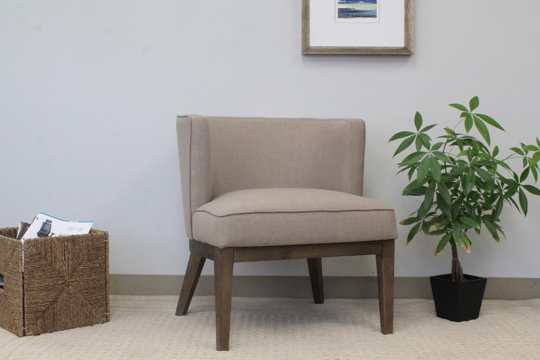 Boss Ava Accent Chair Beige Bosschair