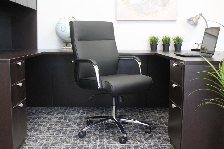 Boss Modern Executive Conference Chair Black Bosschair