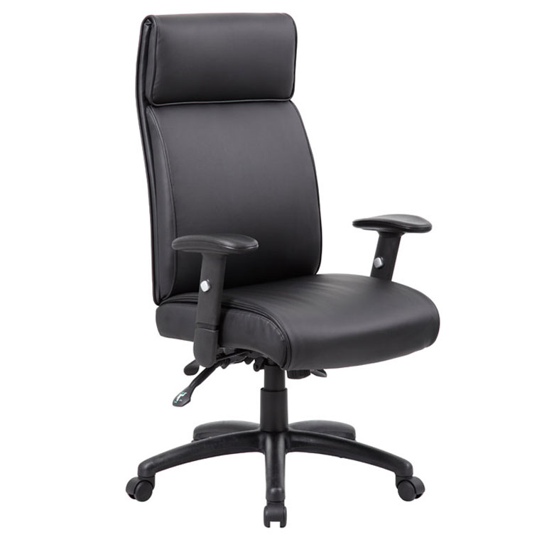 Boss Multi Function Executive High Back Chair With Seat