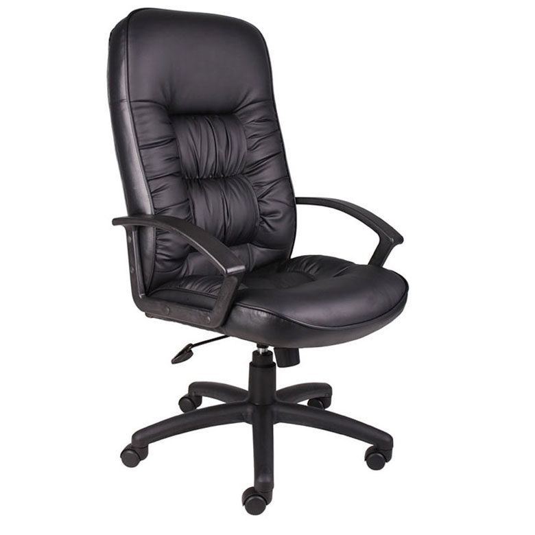 Boss High Back Leatherplus Chair Bosschair