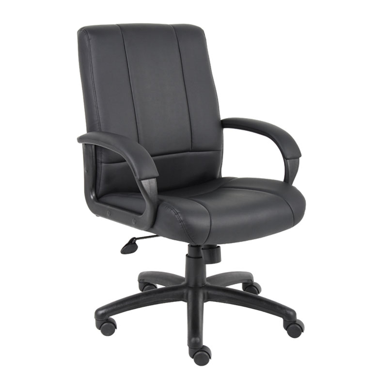 Boss Caressoft Executive Mid Back Chair Bosschair