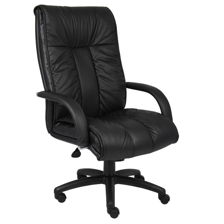 Boss Italian Leather High Back Executive Chair Bosschair