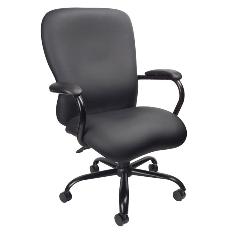 Accent Chair 400lbs: Boss Heavy Duty CaressoftPlus Chair-400 Lbs.