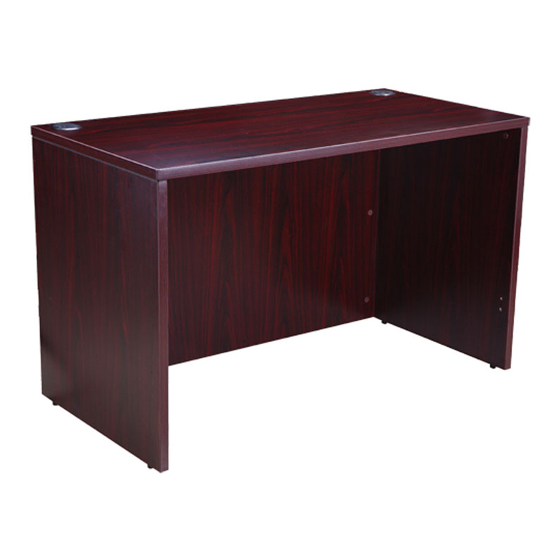 Boss Desk Shell 48x24 Mahogany Bosschair