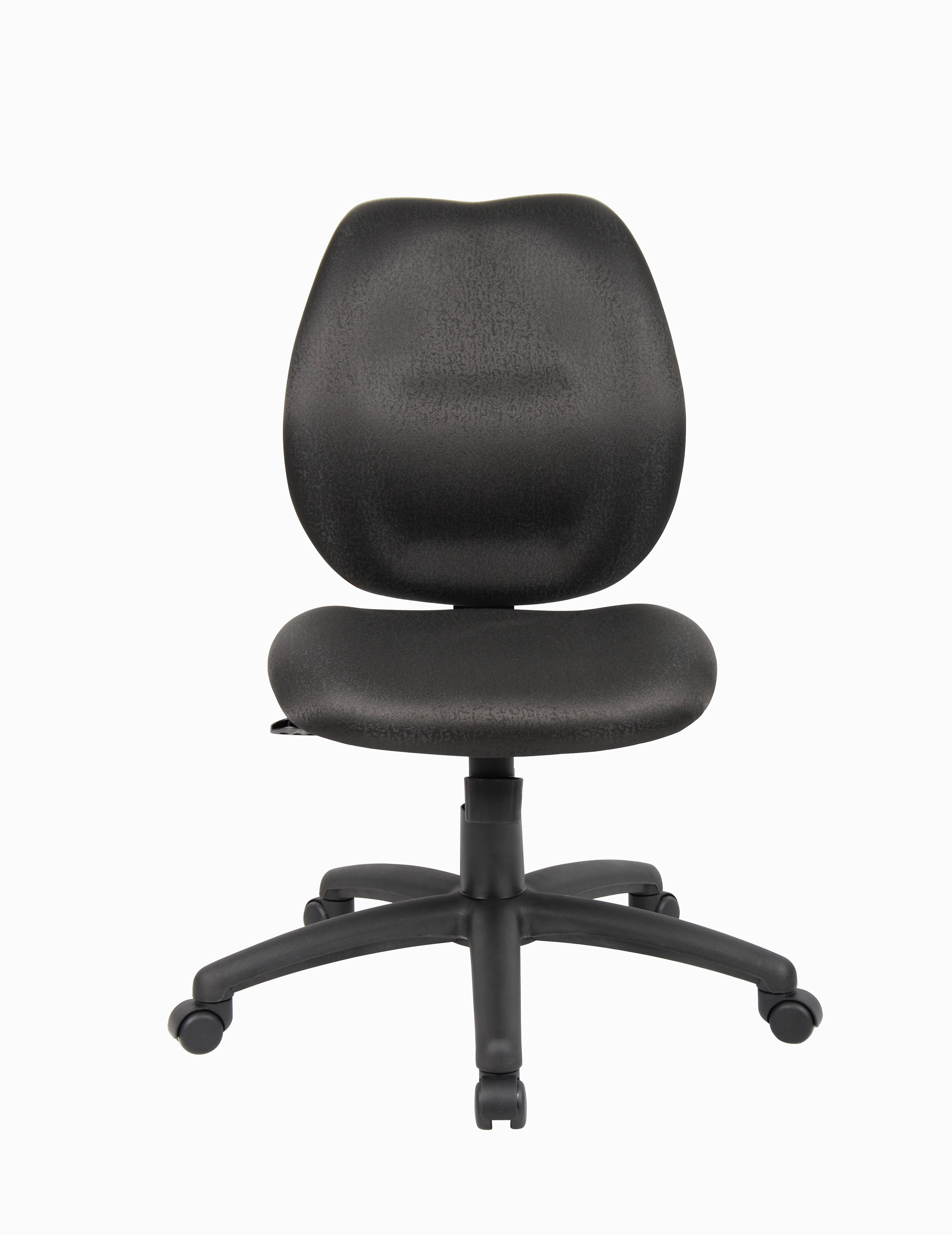 Boss Mid Back Task Office Chair Without Arms Black