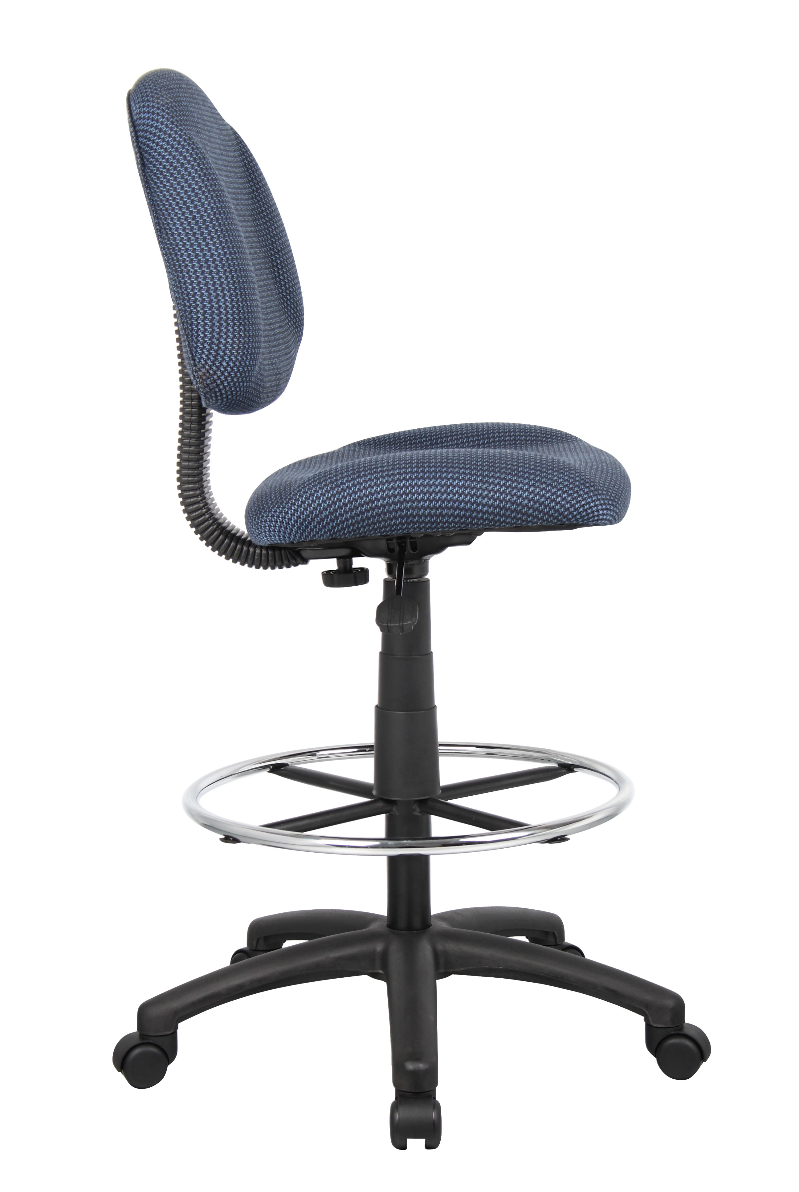 Ergonomic chair without arms
