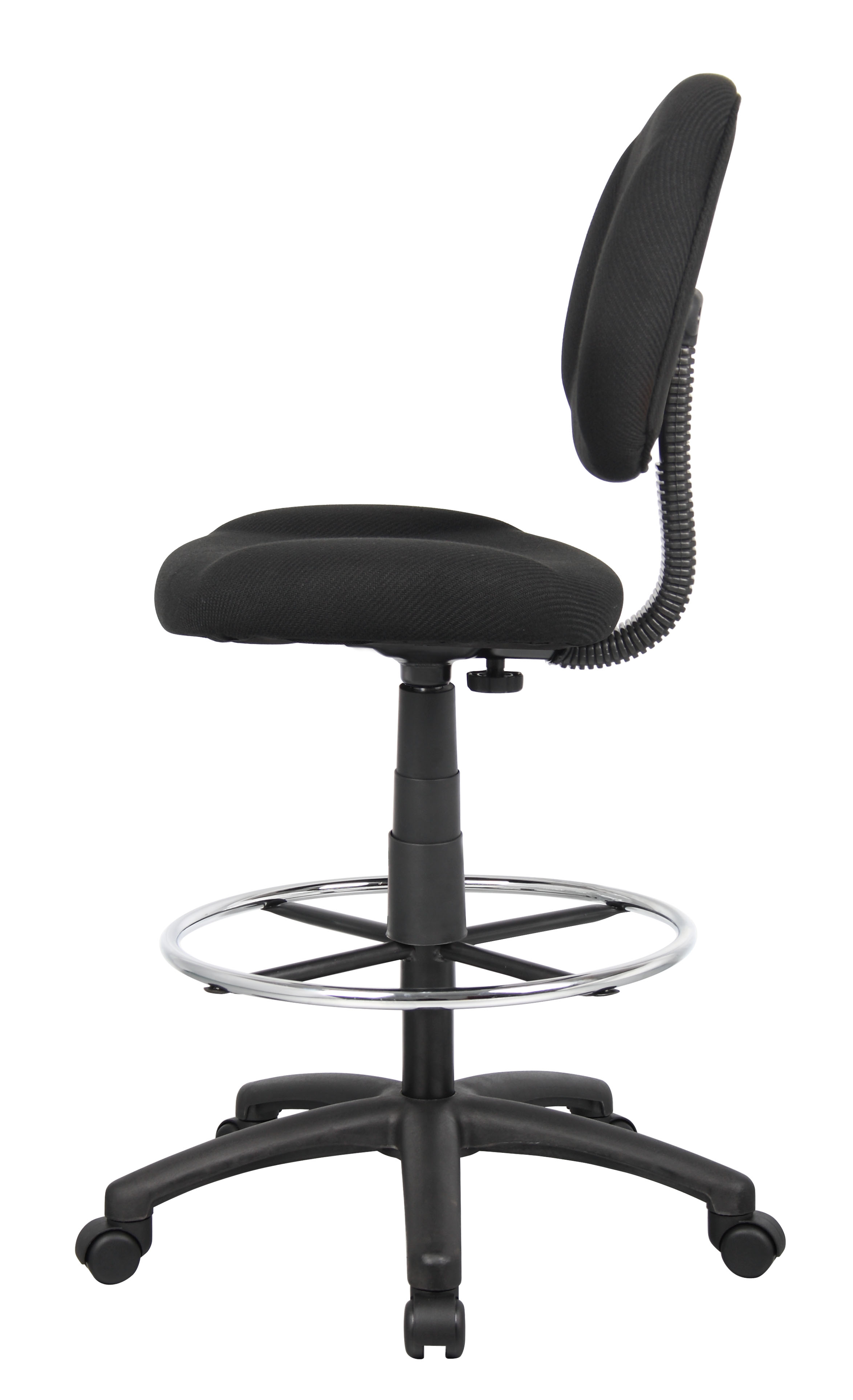 Terrific Boss Ergonomic Works Adustable Drafting Chair Without Arms Black Dailytribune Chair Design For Home Dailytribuneorg