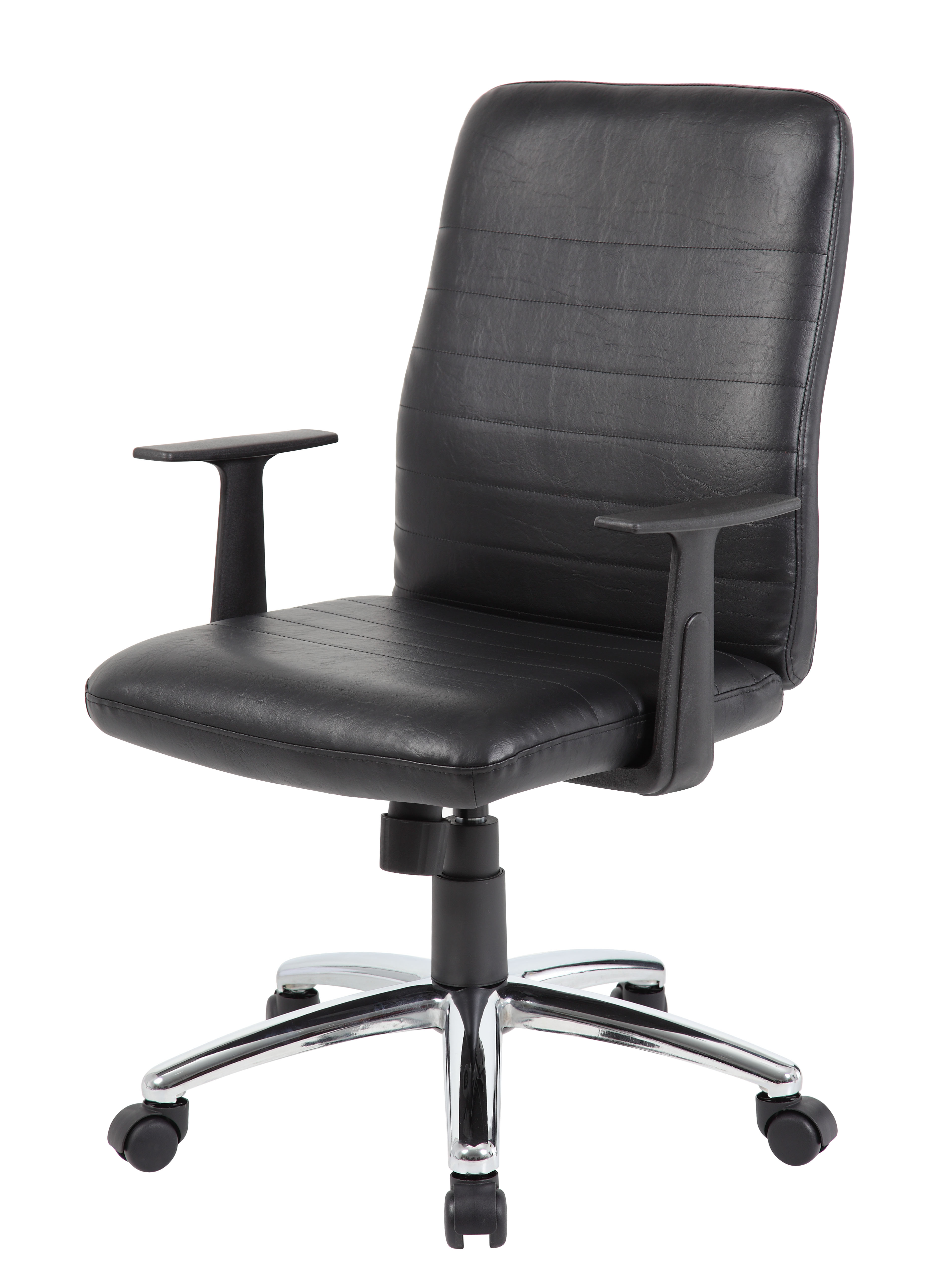 Boss Retro Task Chair With Black T Arms Bosschair