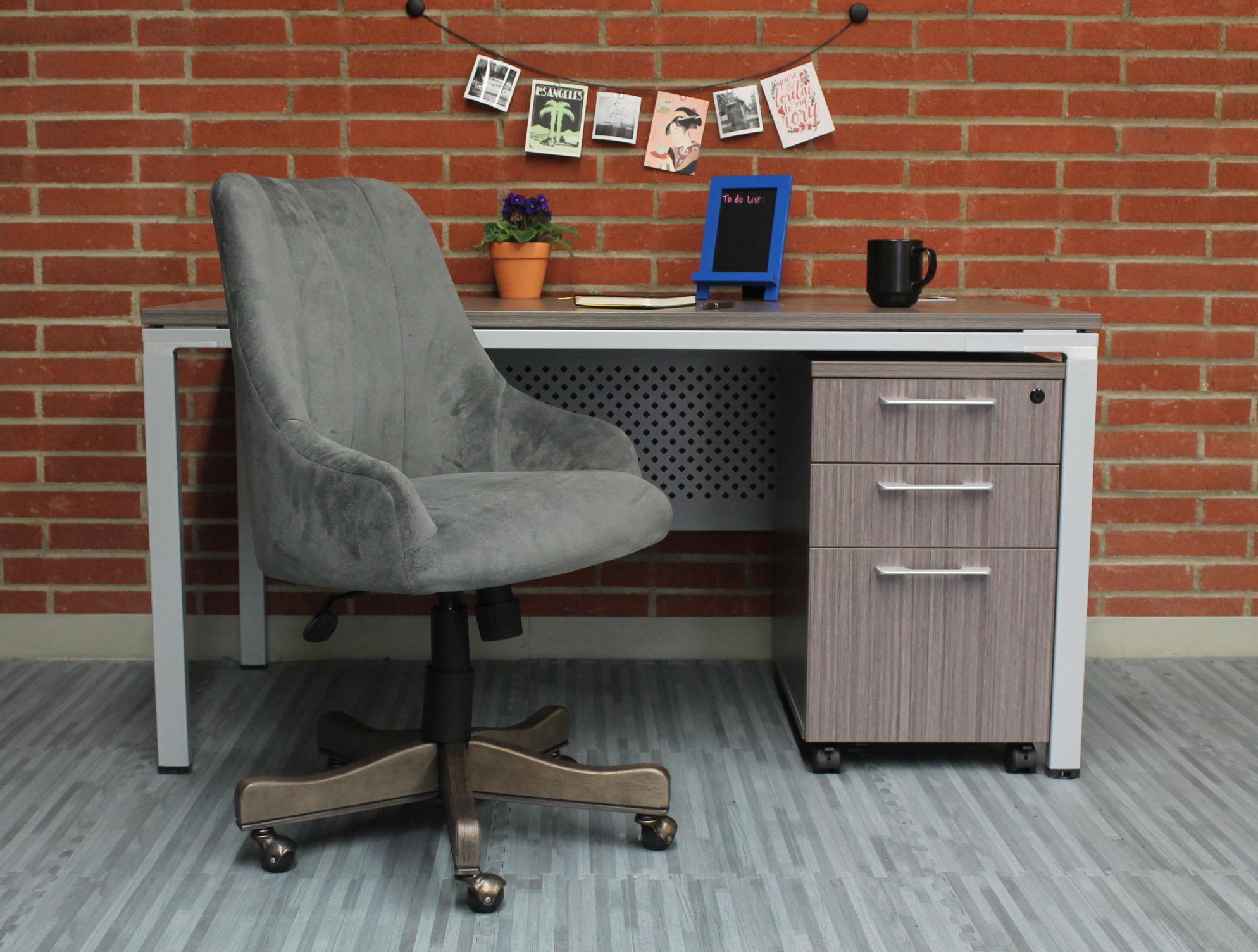 Boss Shubert Chair Charcoal