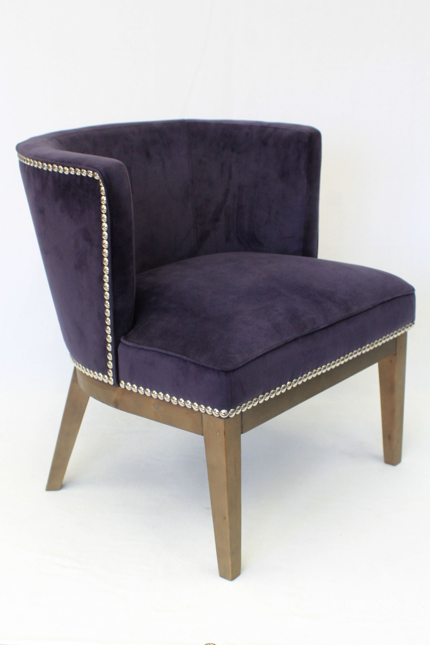 Boss Ava Accent Chair Purple – BossChair