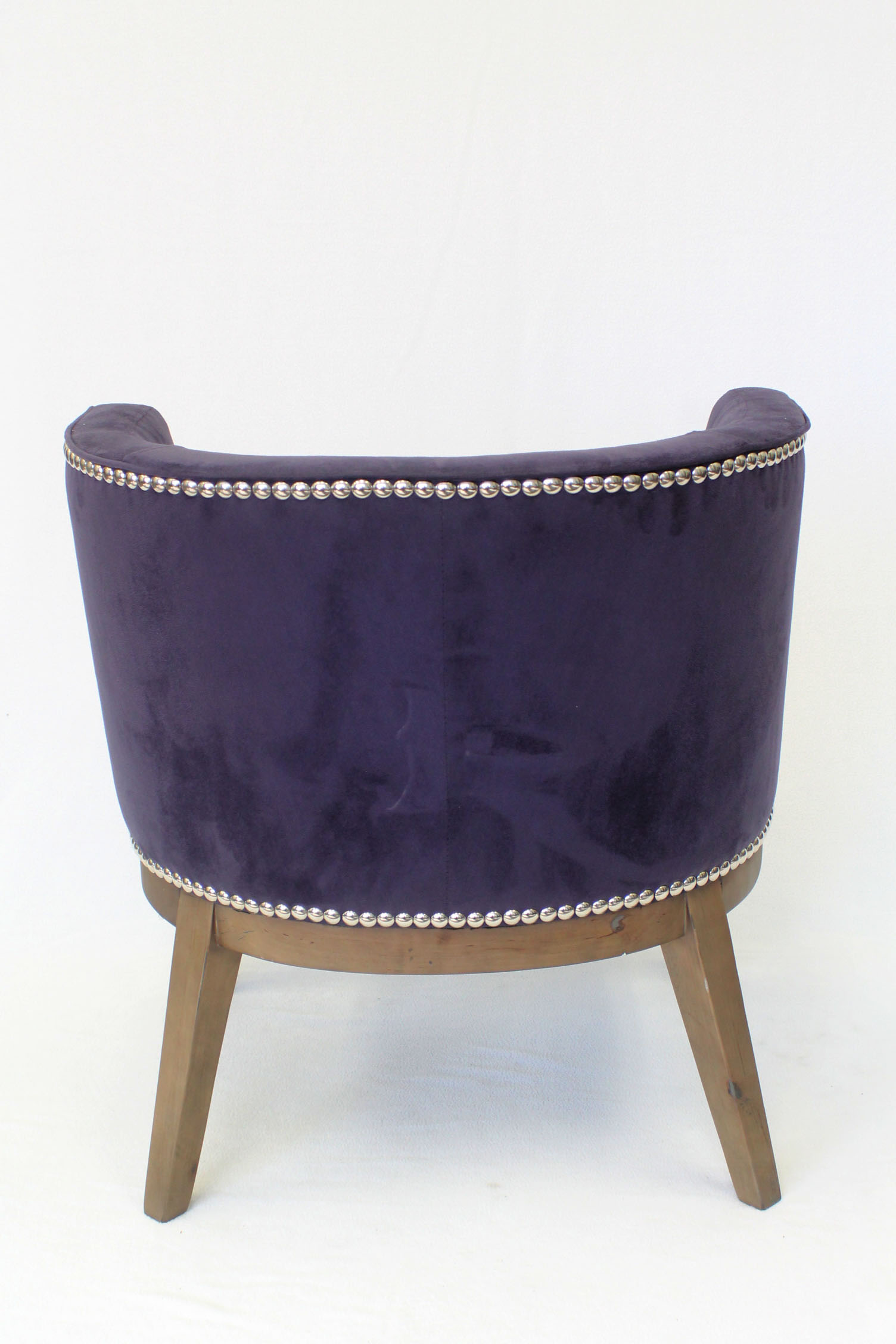 Boss Ava Accent Chair Purple Bosschair