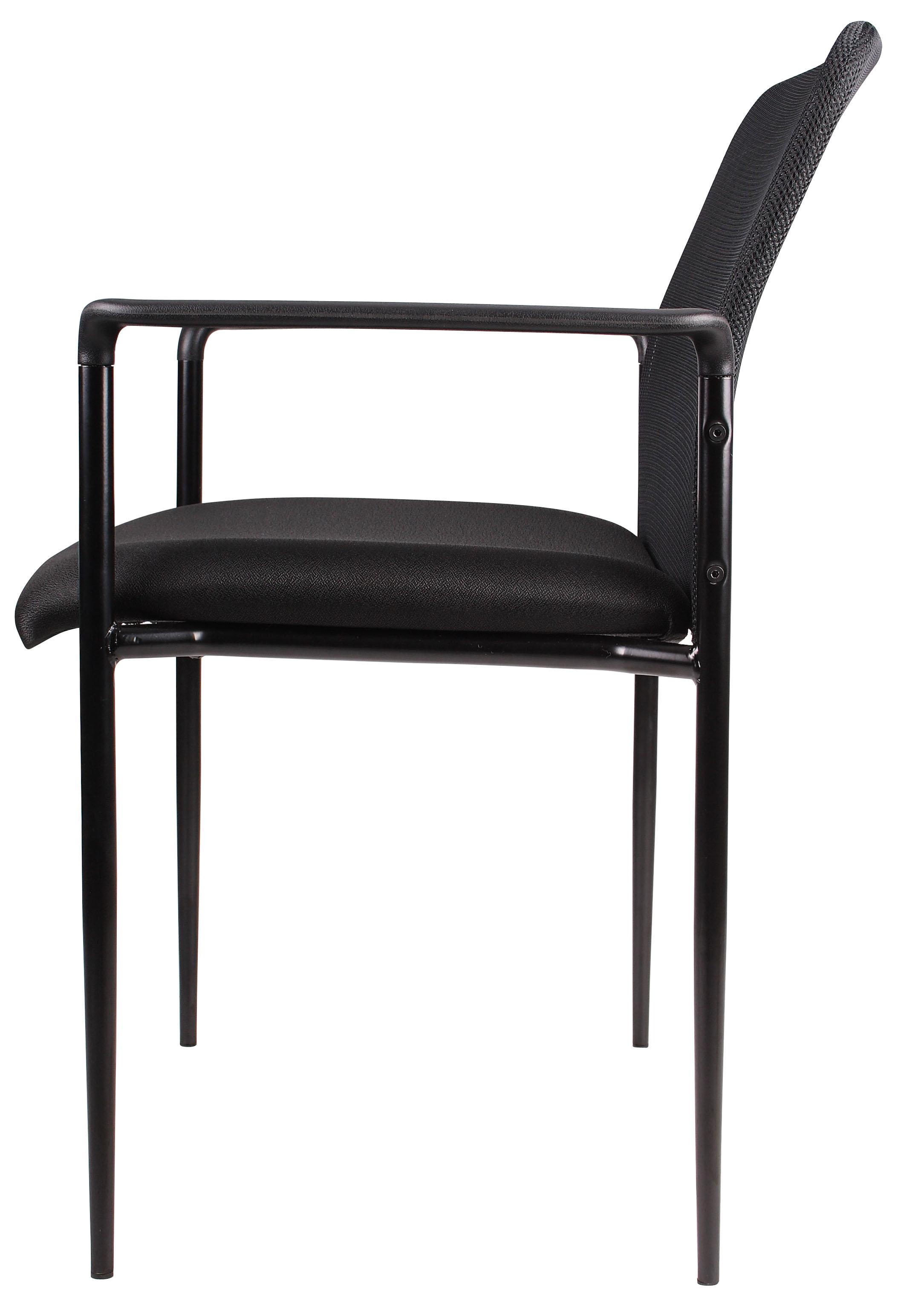 Exceptionnel Boss Stackable Mesh Guest Chair ...