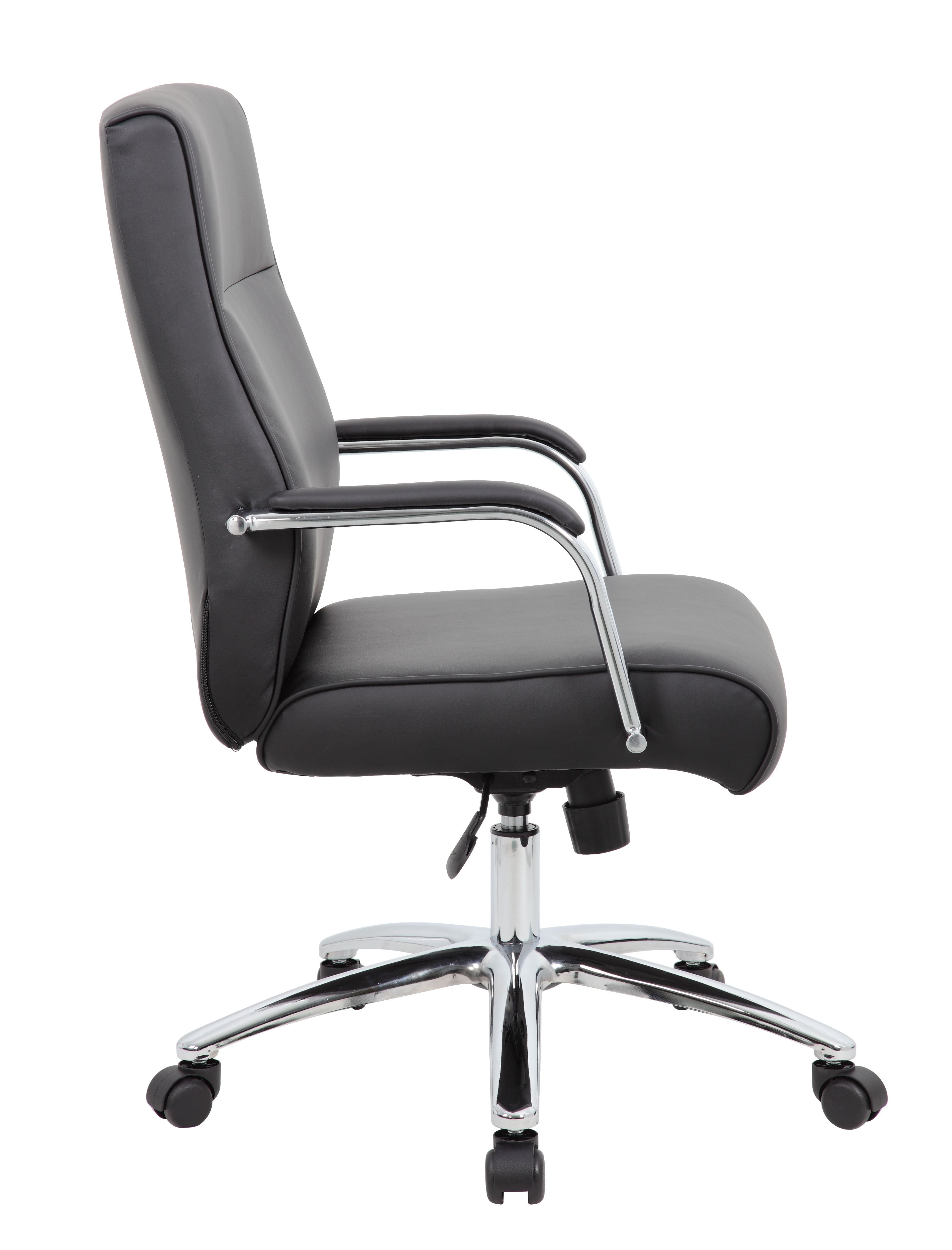 Excellent Boss Modern Executive Conference Chair Black Andrewgaddart Wooden Chair Designs For Living Room Andrewgaddartcom