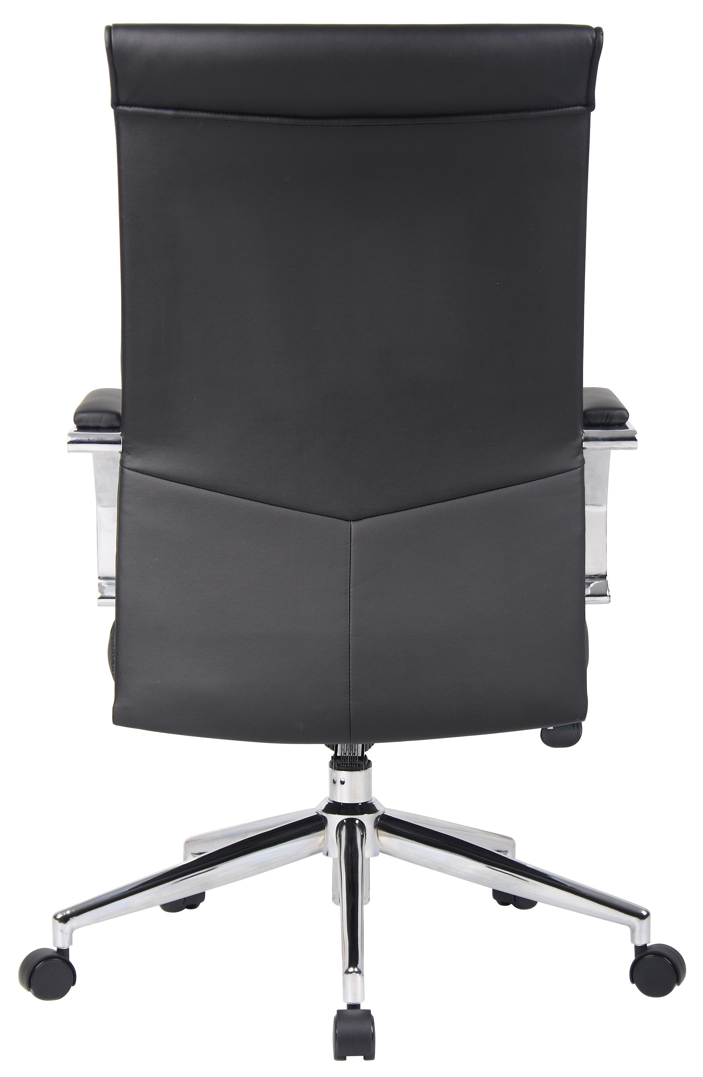 Boss Executive High Back Ribbed Chair Bosschair