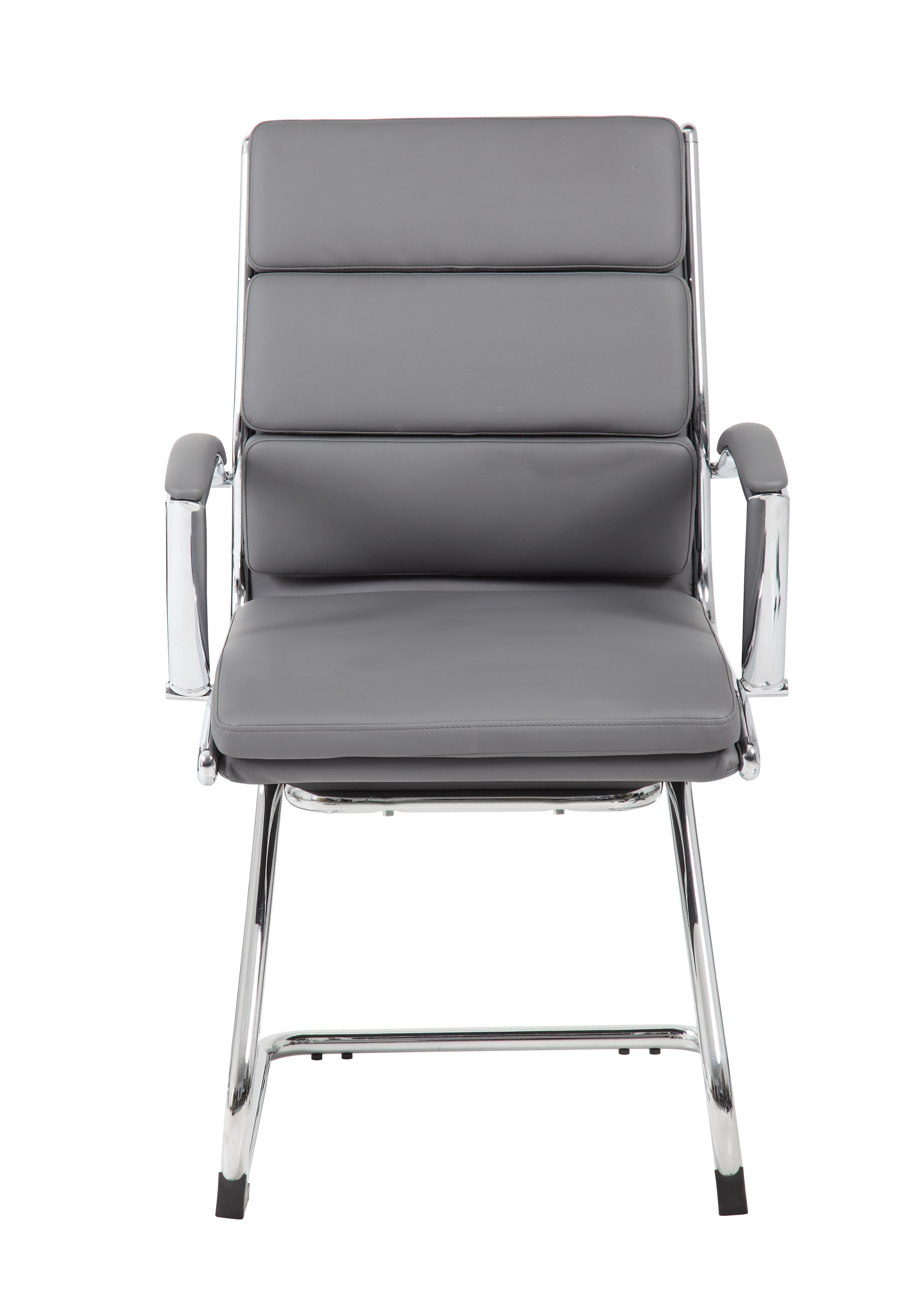 Boss Executive CaressoftPlus™ Chair With Metal Chrome Finish Guest Chair