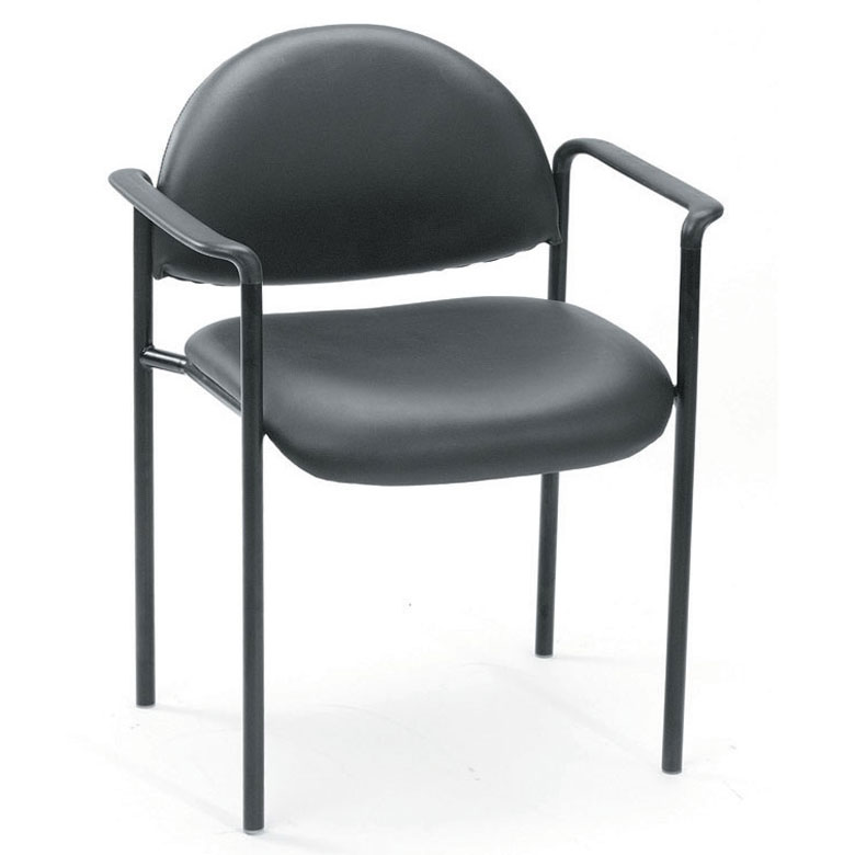 Boss Diamond Stacking W Arm In Black Caressoft Bosschair