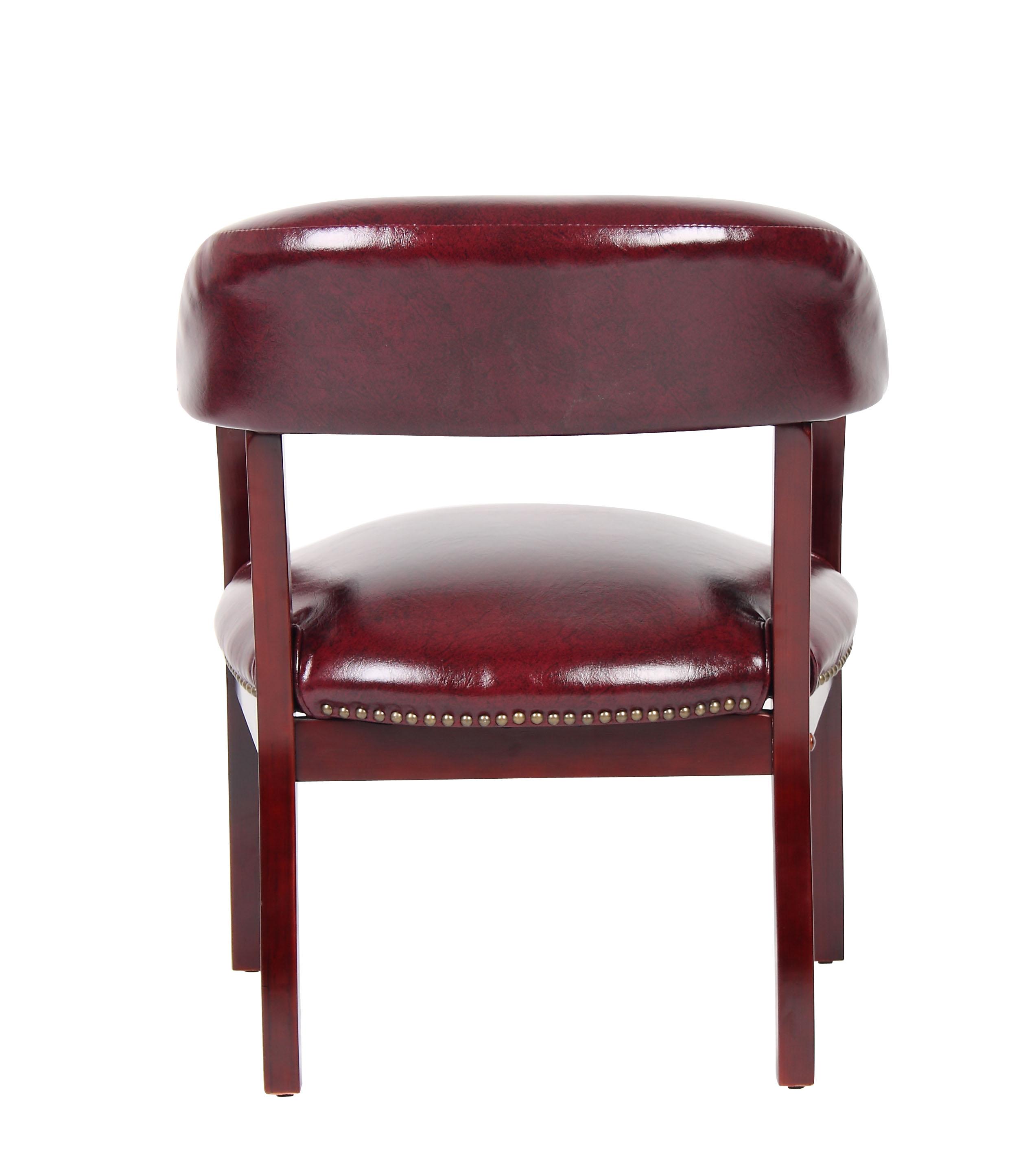 Boss Ivy League Executive Captain S Chair In Vinyl