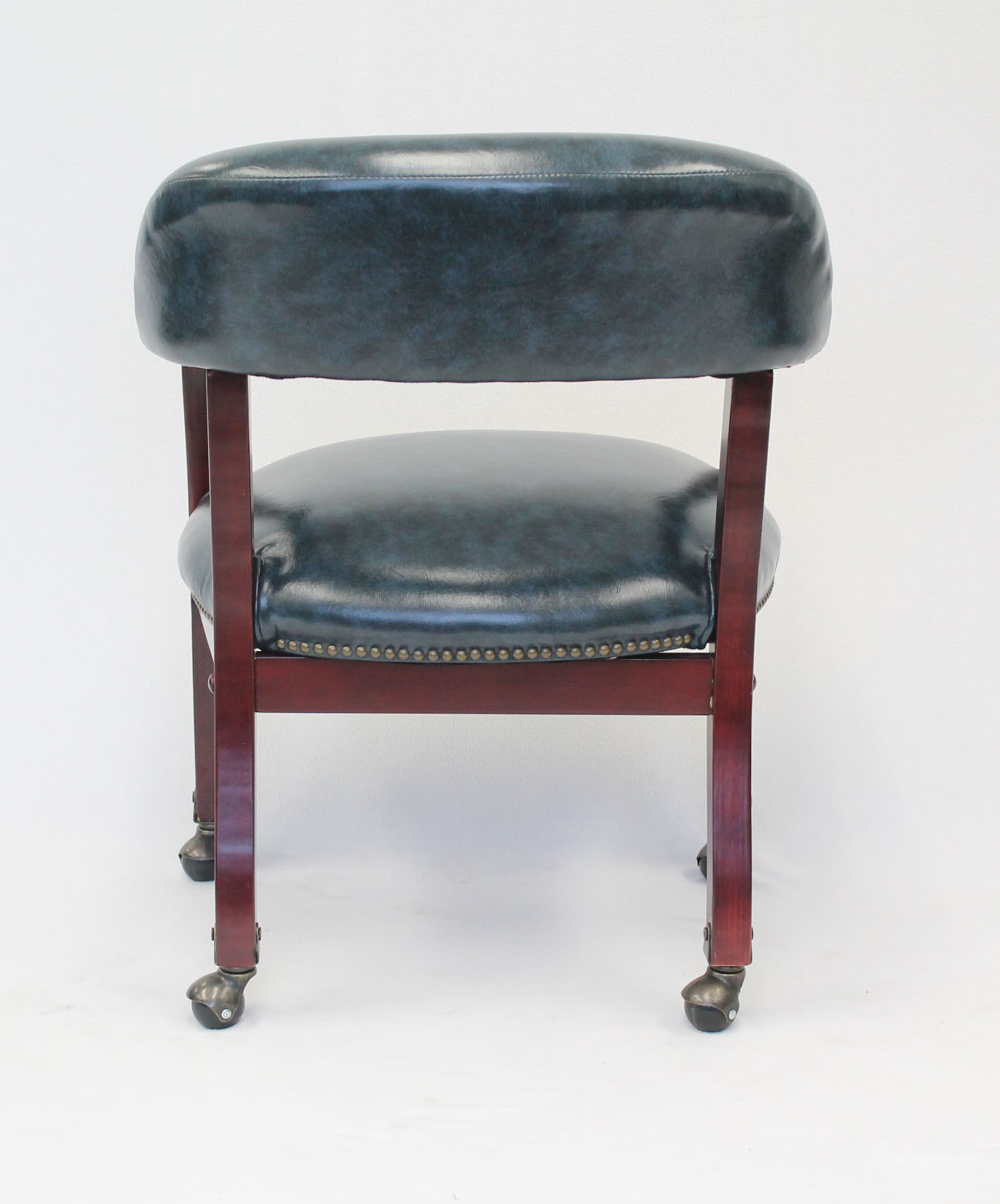 Boss Ivy League Executive Captainu0027s Chair in Vinyl with Casters Blue & Boss Ivy League Executive Captainu0027s Chair in Vinyl with Casters ...