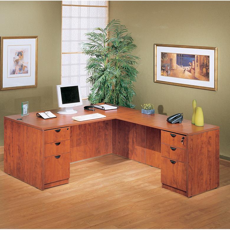 Boss Holland Series 71 Inch Executive L Shape Corner Desk