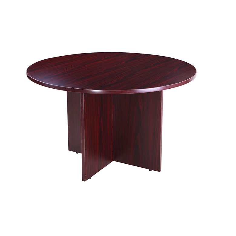 Boss 47 Round Table Mahogany