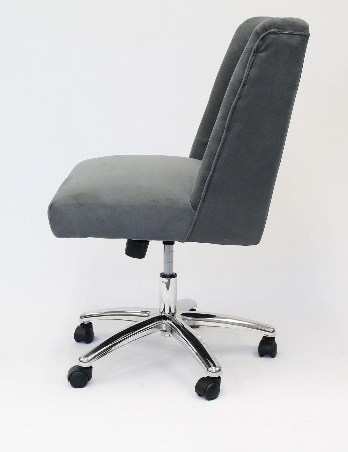 Boss Decorative Task Chair Charcoal Grey Bosschair