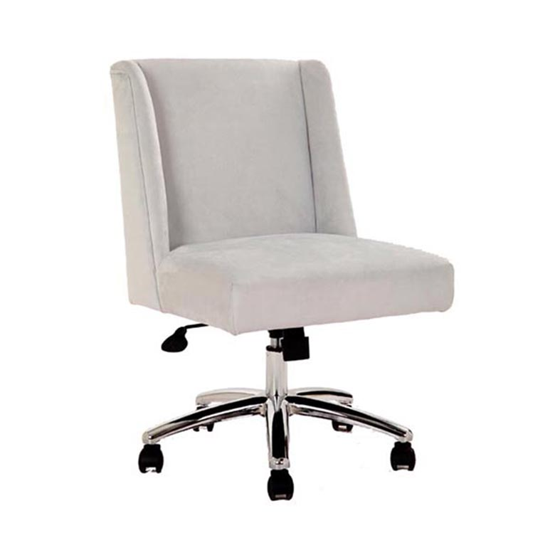 Boss Decorative Task Chair  Light Grey