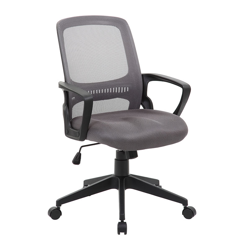 Boss Mesh Task Chair, Grey