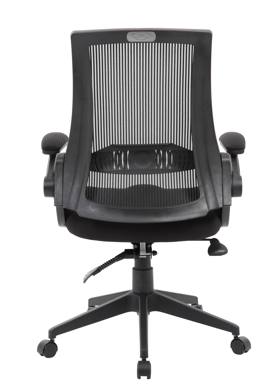 Boss Mesh Back Flip Arm Task Chair Bosschair