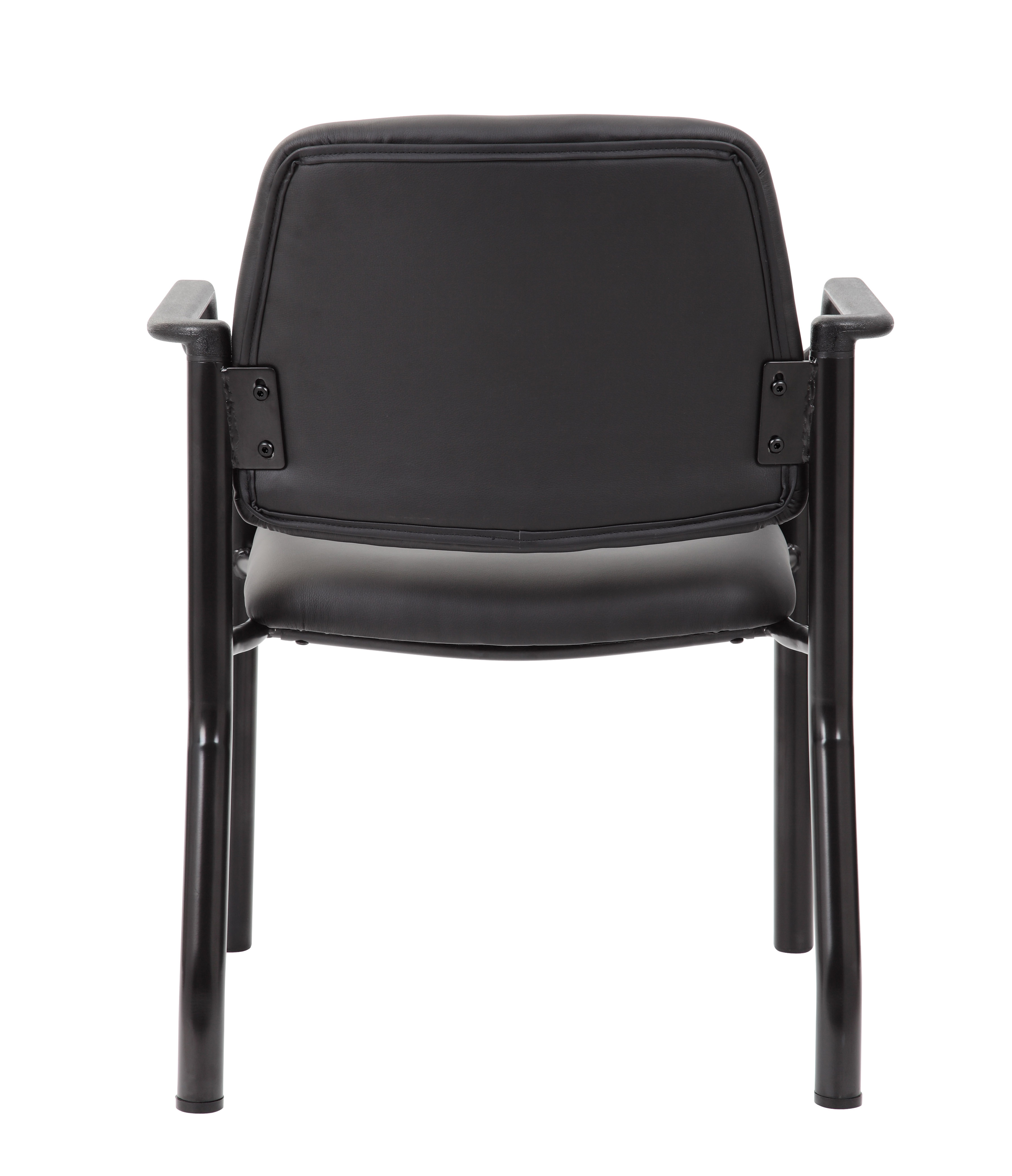 Superieur Boss Mid Back Guest Chair, Antimicrobial Vinyl