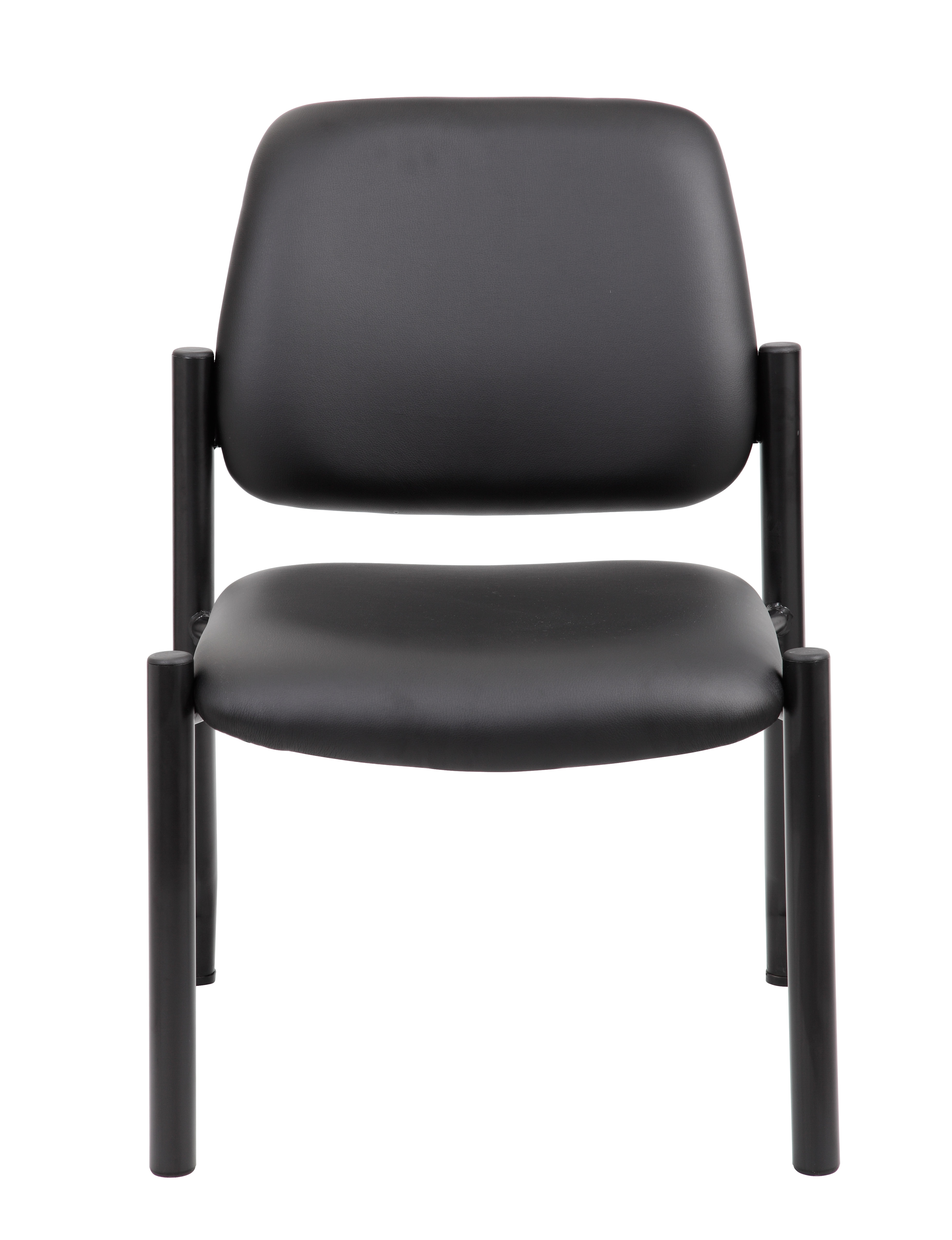 Boss Mid Back Armless Guest Chair 300 Lb Capacity