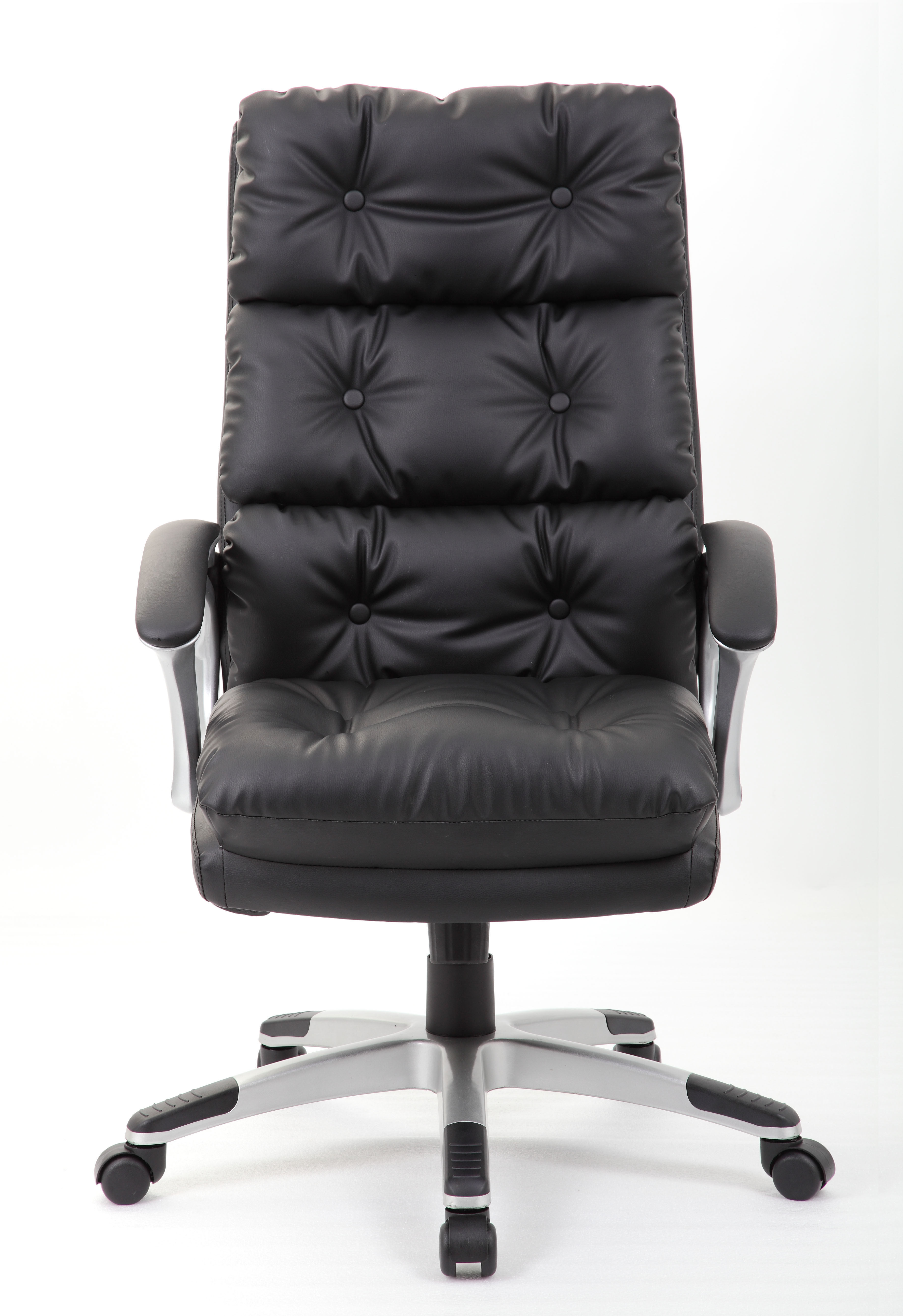 Boss Executive Button Tufted High Back Leatherplus Chair