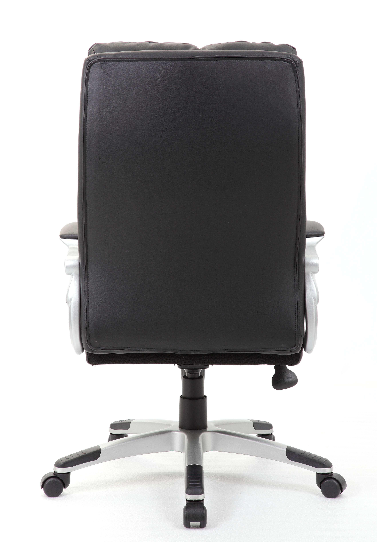 Boss Executive Button Tufted High Back LeatherPlus Chair – BossChair