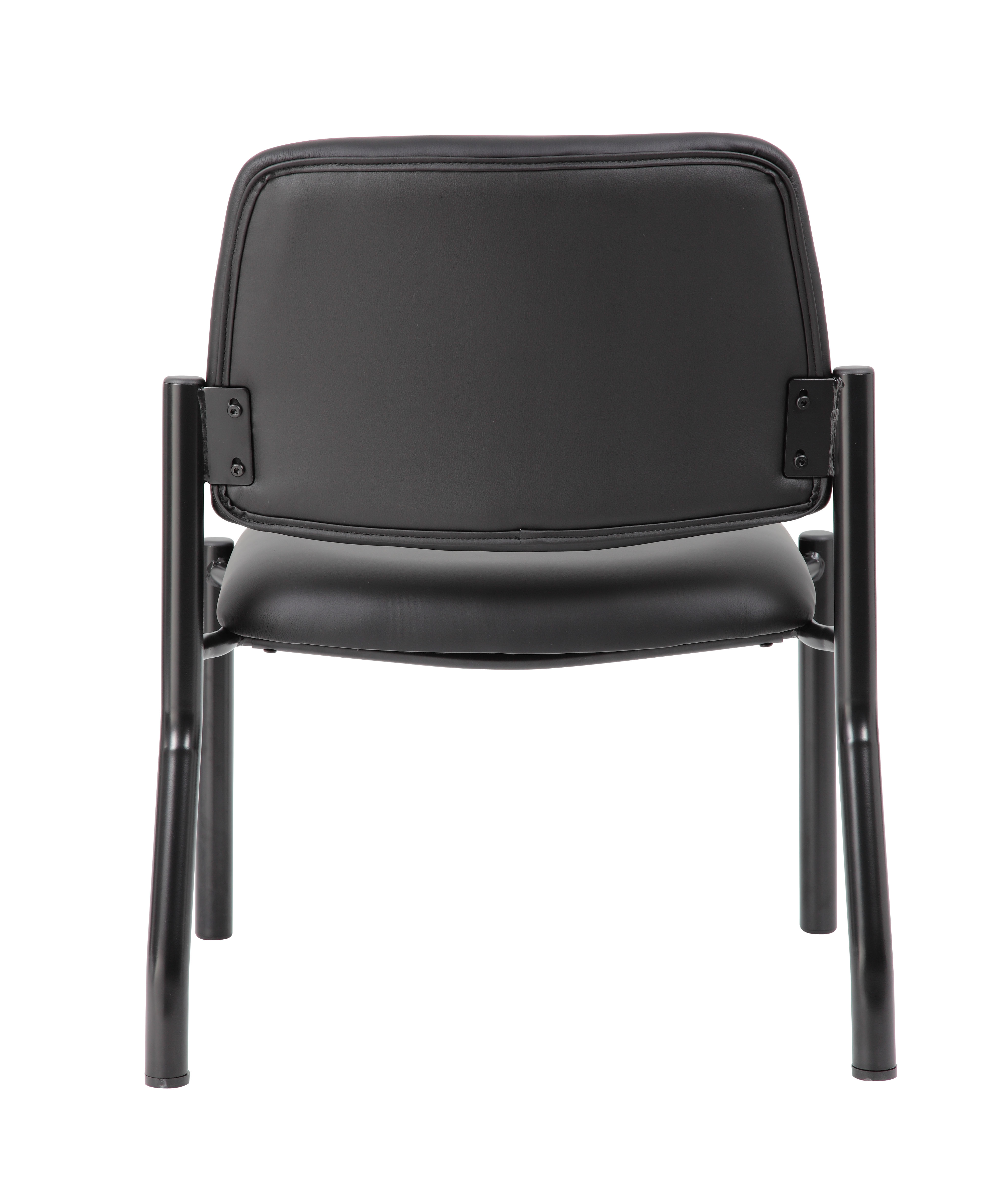 Boss Mid Back Armless Guest Chair 400 Lb Capacity